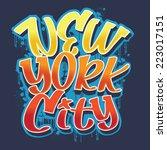 New York City Typography  T...