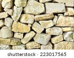 Old Stonework Wall. Background...