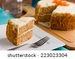 Carrot Cake With Whipped...