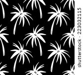 exotic seamless pattern with... | Shutterstock .eps vector #223032115