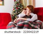 christmas time | Shutterstock . vector #223042219