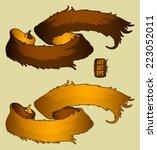 set of ribbons   Shutterstock .eps vector #223052011