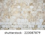 Old Textured Stone Wall...