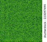 green soccer grass field vector | Shutterstock .eps vector #223097494