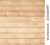 big brown wood plank wall... | Shutterstock . vector #223106497