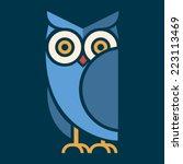 owl vector | Shutterstock .eps vector #223113469