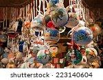 christmas ornaments in a fair   ... | Shutterstock . vector #223140604