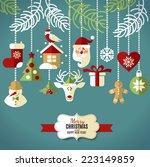 Christmas Design Icons Set....