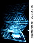 cyber numpad | Shutterstock . vector #22315345