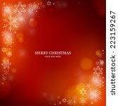 christmas background | Shutterstock .eps vector #223159267