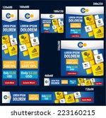 web banner ad templates ... | Shutterstock .eps vector #223160215