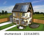 Energy Efficient House  Garden...