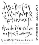 alphabet | Shutterstock .eps vector #223201975