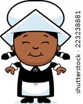a cartoon illustration of a... | Shutterstock .eps vector #223238881