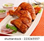 chicken tikka 3   Shutterstock . vector #223265557