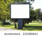 empty billboard with copy space | Shutterstock . vector #223280641