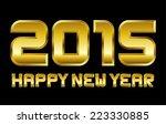 happy new year 2015  ... | Shutterstock .eps vector #223330885