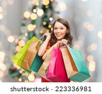 sale  gifts  holidays and... | Shutterstock . vector #223336981