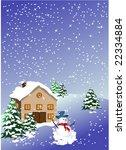 christmas background   Shutterstock .eps vector #22334884