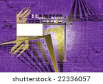 future background with banner | Shutterstock .eps vector #22336057