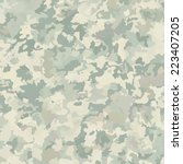 camouflage military background. ... | Shutterstock .eps vector #223407205