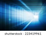 tunnel  abstract | Shutterstock . vector #223419961