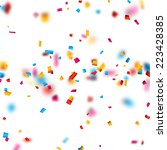 colorful celebration background ... | Shutterstock .eps vector #223428385