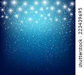 abstract starry background for... | Shutterstock .eps vector #223439695
