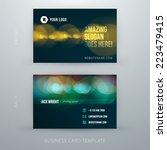 vector abstract creative... | Shutterstock .eps vector #223479415