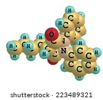 phenylbutazone  bute  is a... | Shutterstock . vector #223489321