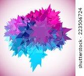 geometric banner | Shutterstock .eps vector #223506724