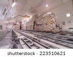 air cargo freighter | Shutterstock . vector #223510621