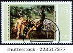german democratic republic  ... | Shutterstock . vector #223517377