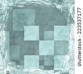 blue grunge background. old...   Shutterstock . vector #223537177