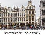 brussels  belgium   june 19 ... | Shutterstock . vector #223559047