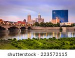 Indianapolis Skyline And The...