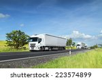 truck on the road | Shutterstock . vector #223574899