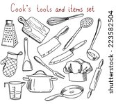Cook's Tools And Items Set....