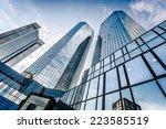 frankfurt   july 4  bottom view ... | Shutterstock . vector #223585519