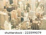 skyscrapers in the business... | Shutterstock . vector #223599079