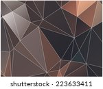 abstract geometric background... | Shutterstock .eps vector #223633411