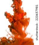 ink in water | Shutterstock . vector #223657981