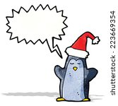 cartoon penguin   Shutterstock .eps vector #223669354