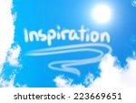 inspiration concept   Shutterstock . vector #223669651