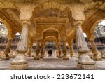 amer palace jaipur | Shutterstock . vector #223672141