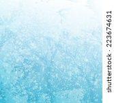 vector winter background | Shutterstock .eps vector #223674631