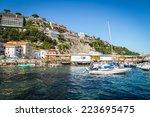 a beautiful landscape.... | Shutterstock . vector #223695475