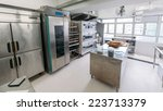 commercial kitchen   bakery | Shutterstock . vector #223713379