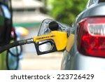 gas station pump   petrol  | Shutterstock . vector #223726429