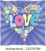 valentine's day background | Shutterstock .eps vector #22374784